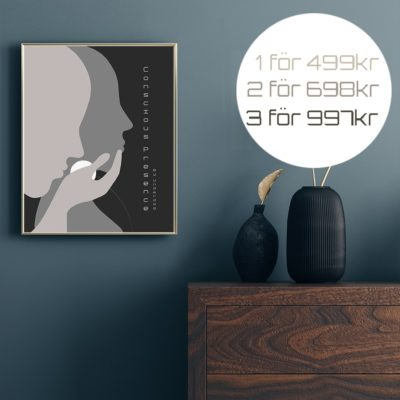 Conscious Presence /More -Poster